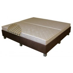 Łóżko Hotelowe z listwami elastycznymi