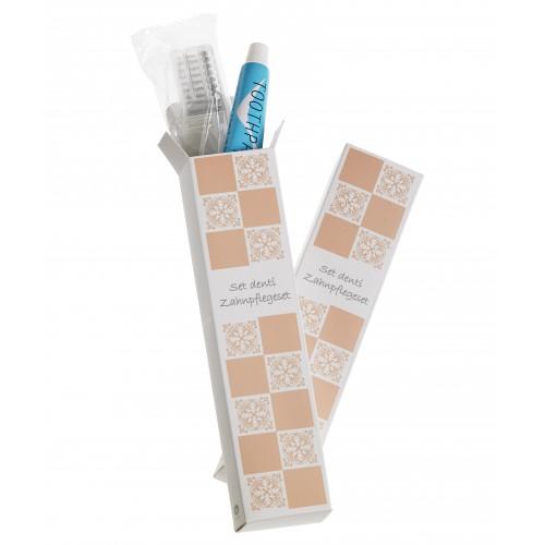 kosmetyki hotelowe | Zestaw do mycia zębów hotelowy Acanto 10szt