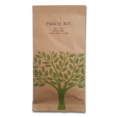 Vanity set   Zestaw kosmetyczny, NATURE, 50szt