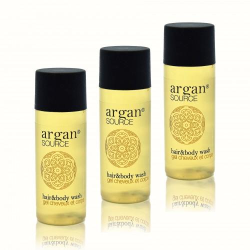 Kosmetyki hotelowe |  Szampon i żel, hotelowy, Argan 30ml 450szt