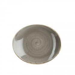 hotelowe.co | Talerz owalny średnica 19,2 cm porcelana