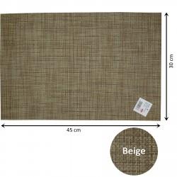 Podkładka, mata stołowa na stół- 12 szt. Beige T2203.R12