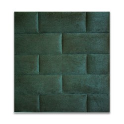 Panel tapicerowany, kostka, do własnego montażu, 3D, różne