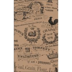 Papier pergaminowy, do hotelu, vintage, restauracji, nieprzywierający - 500szt - Nr. H6340