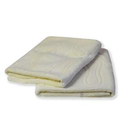 Dywanik łazienkowy Stopka ecru frotte 100% bawełna